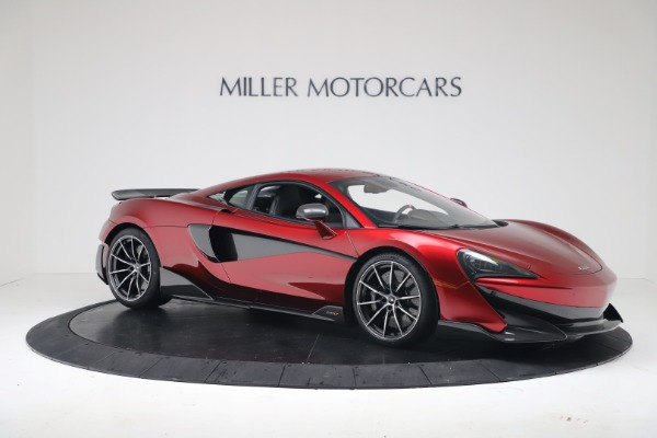 New 2019 McLaren 600LT Coupe for sale $285,236 at Alfa Romeo of Greenwich in Greenwich CT 06830 9