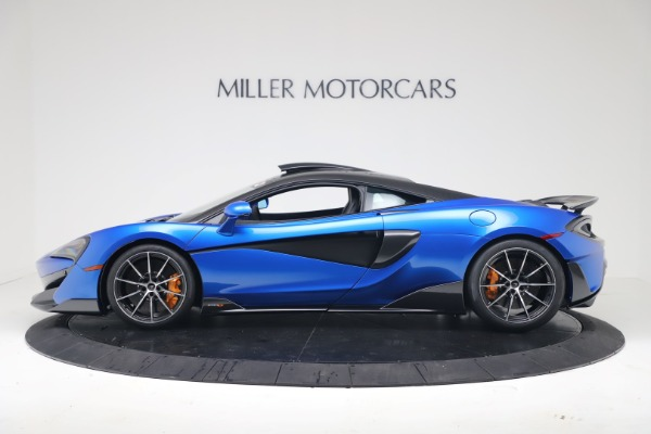 New 2019 McLaren 600LT Coupe for sale Sold at Alfa Romeo of Greenwich in Greenwich CT 06830 2