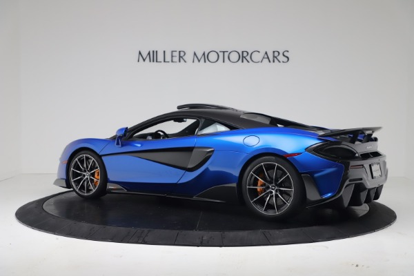 New 2019 McLaren 600LT Coupe for sale Sold at Alfa Romeo of Greenwich in Greenwich CT 06830 3