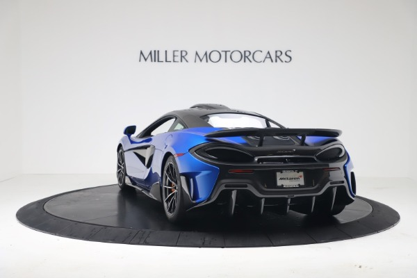 New 2019 McLaren 600LT Coupe for sale Sold at Alfa Romeo of Greenwich in Greenwich CT 06830 4