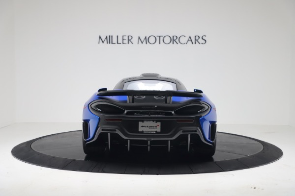 New 2019 McLaren 600LT Coupe for sale Sold at Alfa Romeo of Greenwich in Greenwich CT 06830 5