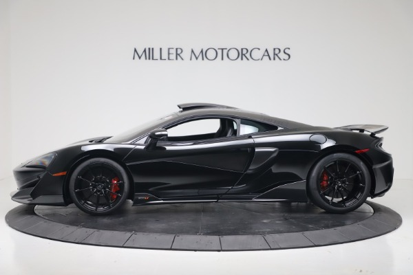 New 2019 McLaren 600LT for sale $305,639 at Alfa Romeo of Greenwich in Greenwich CT 06830 2