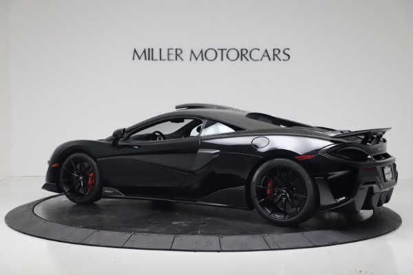 New 2019 McLaren 600LT for sale $305,639 at Alfa Romeo of Greenwich in Greenwich CT 06830 3