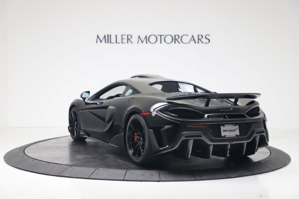 New 2019 McLaren 600LT for sale $305,639 at Alfa Romeo of Greenwich in Greenwich CT 06830 4