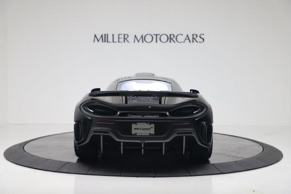 New 2019 McLaren 600LT for sale $305,639 at Alfa Romeo of Greenwich in Greenwich CT 06830 5