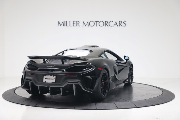 New 2019 McLaren 600LT Coupe for sale $305,639 at Alfa Romeo of Greenwich in Greenwich CT 06830 6