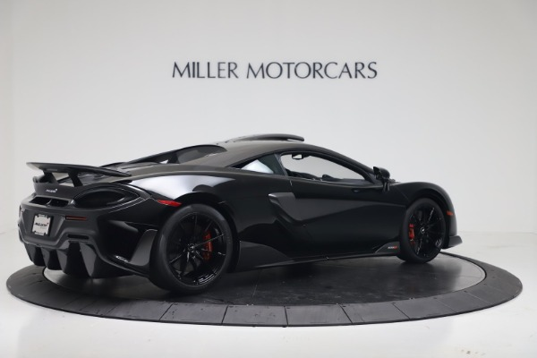 New 2019 McLaren 600LT for sale $305,639 at Alfa Romeo of Greenwich in Greenwich CT 06830 7