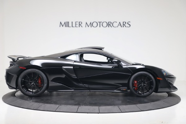 New 2019 McLaren 600LT Coupe for sale $305,639 at Alfa Romeo of Greenwich in Greenwich CT 06830 8