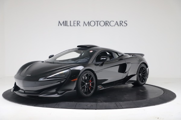 New 2019 McLaren 600LT Coupe for sale $305,639 at Alfa Romeo of Greenwich in Greenwich CT 06830 1