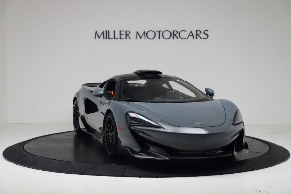 New 2019 McLaren 600LT for sale $311,619 at Alfa Romeo of Greenwich in Greenwich CT 06830 10