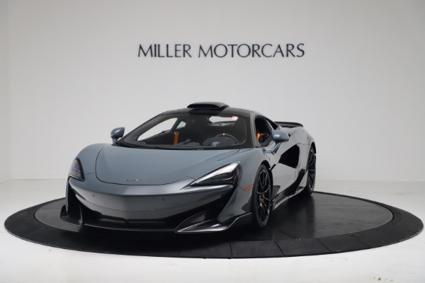 New 2019 McLaren 600LT Coupe for sale $311,619 at Alfa Romeo of Greenwich in Greenwich CT 06830 13