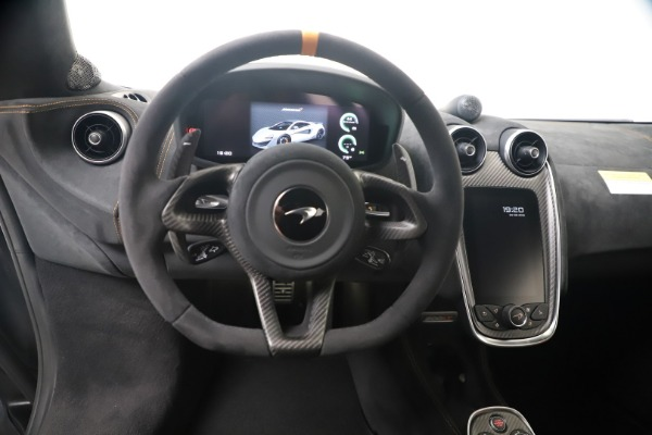 Used 2019 McLaren 600LT for sale $279,900 at Alfa Romeo of Greenwich in Greenwich CT 06830 18