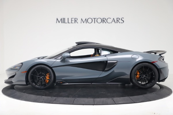 New 2019 McLaren 600LT Coupe for sale $311,619 at Alfa Romeo of Greenwich in Greenwich CT 06830 2