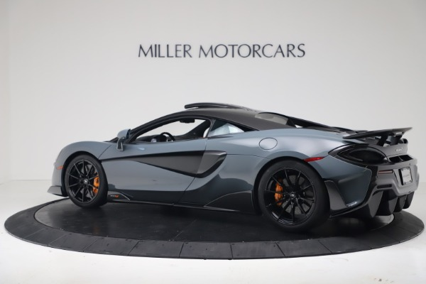 New 2019 McLaren 600LT for sale $311,619 at Alfa Romeo of Greenwich in Greenwich CT 06830 3