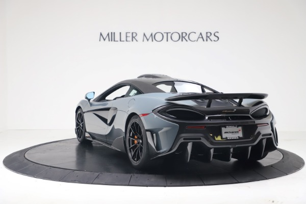 New 2019 McLaren 600LT for sale $311,619 at Alfa Romeo of Greenwich in Greenwich CT 06830 4