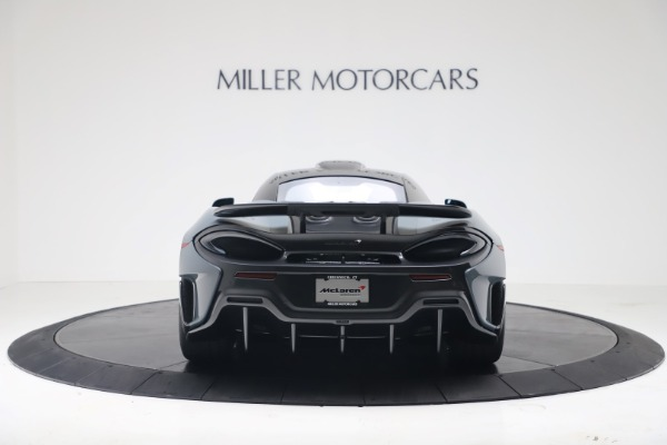 New 2019 McLaren 600LT for sale $311,619 at Alfa Romeo of Greenwich in Greenwich CT 06830 5