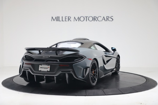 New 2019 McLaren 600LT for sale $311,619 at Alfa Romeo of Greenwich in Greenwich CT 06830 6