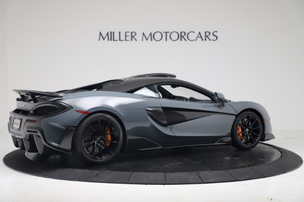 New 2019 McLaren 600LT for sale $311,619 at Alfa Romeo of Greenwich in Greenwich CT 06830 7