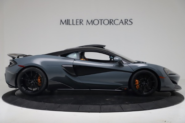 New 2019 McLaren 600LT for sale $311,619 at Alfa Romeo of Greenwich in Greenwich CT 06830 8