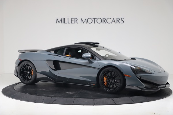 New 2019 McLaren 600LT for sale $311,619 at Alfa Romeo of Greenwich in Greenwich CT 06830 9
