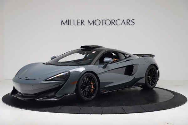 New 2019 McLaren 600LT for sale $311,619 at Alfa Romeo of Greenwich in Greenwich CT 06830 1