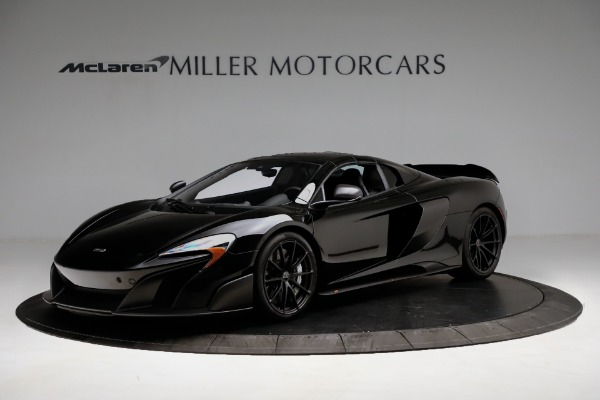 Used 2016 McLaren 675LT Convertible for sale Sold at Alfa Romeo of Greenwich in Greenwich CT 06830 13