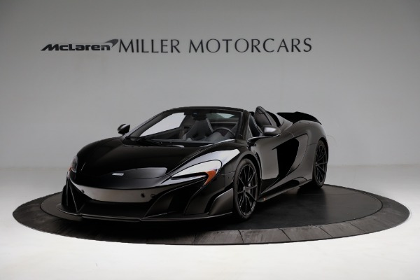 Used 2016 McLaren 675LT Convertible for sale Sold at Alfa Romeo of Greenwich in Greenwich CT 06830 2