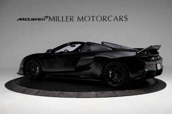 Used 2016 McLaren 675LT Convertible for sale Sold at Alfa Romeo of Greenwich in Greenwich CT 06830 4
