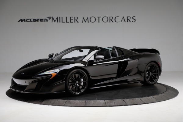 Used 2016 McLaren 675LT Convertible for sale Sold at Alfa Romeo of Greenwich in Greenwich CT 06830 1