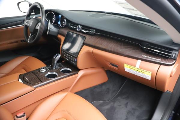 New 2019 Maserati Quattroporte S Q4 for sale Sold at Alfa Romeo of Greenwich in Greenwich CT 06830 17