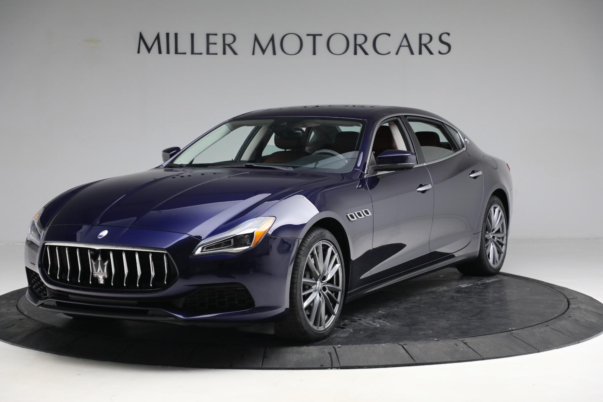 New 2019 Maserati Quattroporte S Q4 for sale Sold at Alfa Romeo of Greenwich in Greenwich CT 06830 1