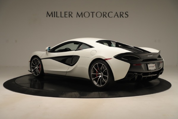 New 2020 McLaren 570S for sale $215,600 at Alfa Romeo of Greenwich in Greenwich CT 06830 3