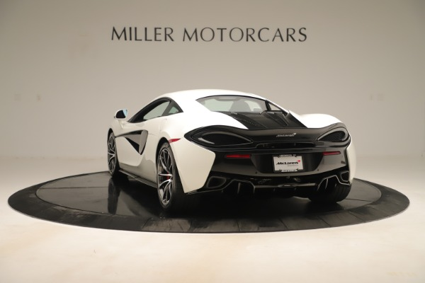 New 2020 McLaren 570S for sale $215,600 at Alfa Romeo of Greenwich in Greenwich CT 06830 4