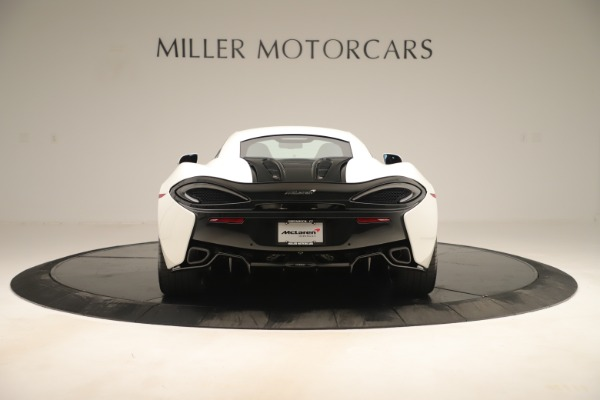 New 2020 McLaren 570S for sale $215,600 at Alfa Romeo of Greenwich in Greenwich CT 06830 5