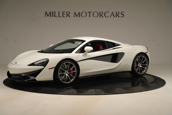 New 2020 McLaren 570S for sale $215,600 at Alfa Romeo of Greenwich in Greenwich CT 06830 1