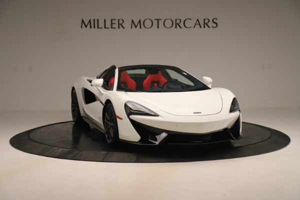 New 2020 McLaren 570S Convertible for sale Sold at Alfa Romeo of Greenwich in Greenwich CT 06830 10