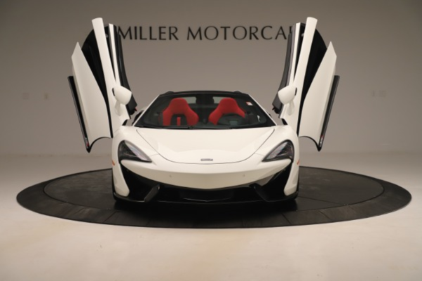 New 2020 McLaren 570S Convertible for sale Sold at Alfa Romeo of Greenwich in Greenwich CT 06830 12
