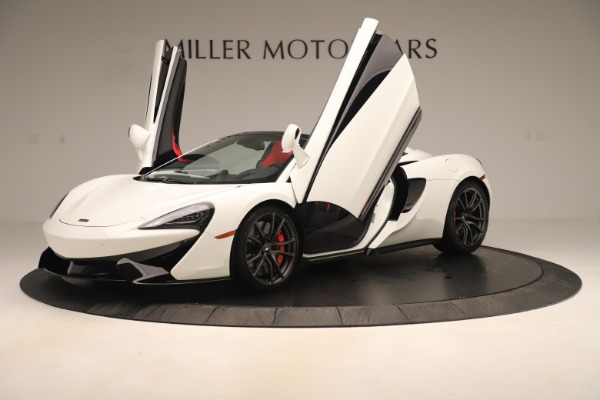 New 2020 McLaren 570S Convertible for sale Sold at Alfa Romeo of Greenwich in Greenwich CT 06830 13