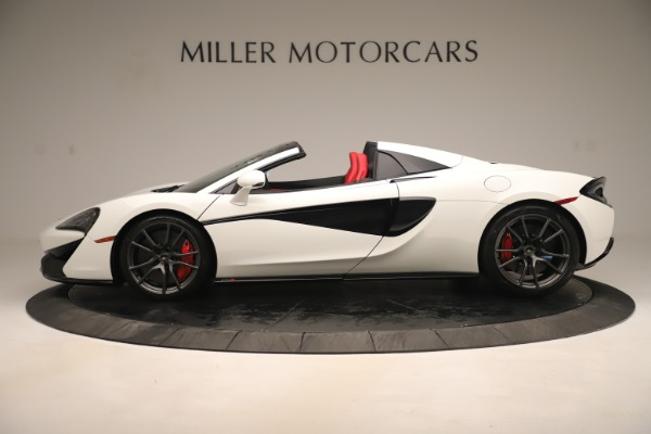 New 2020 McLaren 570S Convertible for sale Sold at Alfa Romeo of Greenwich in Greenwich CT 06830 2
