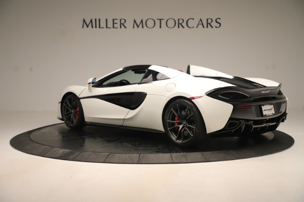 New 2020 McLaren 570S Convertible for sale Sold at Alfa Romeo of Greenwich in Greenwich CT 06830 3