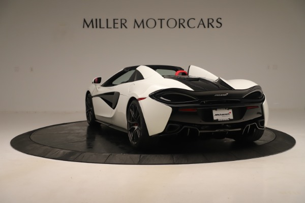 New 2020 McLaren 570S Convertible for sale Sold at Alfa Romeo of Greenwich in Greenwich CT 06830 4