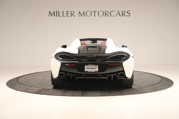 New 2020 McLaren 570S Convertible for sale Sold at Alfa Romeo of Greenwich in Greenwich CT 06830 5