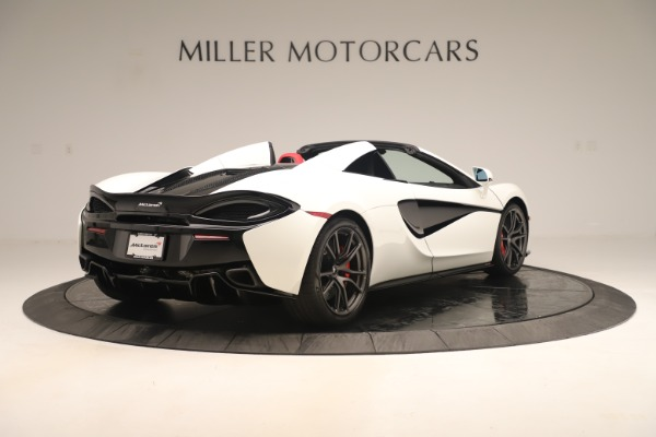 New 2020 McLaren 570S Convertible for sale Sold at Alfa Romeo of Greenwich in Greenwich CT 06830 6