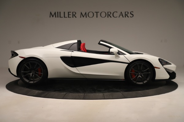 New 2020 McLaren 570S Convertible for sale Sold at Alfa Romeo of Greenwich in Greenwich CT 06830 8