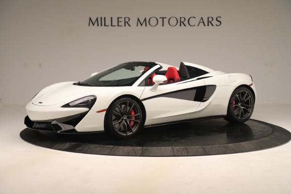 New 2020 McLaren 570S Convertible for sale Sold at Alfa Romeo of Greenwich in Greenwich CT 06830 1