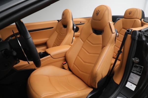 New 2019 Maserati GranTurismo MC Convertible for sale Sold at Alfa Romeo of Greenwich in Greenwich CT 06830 27