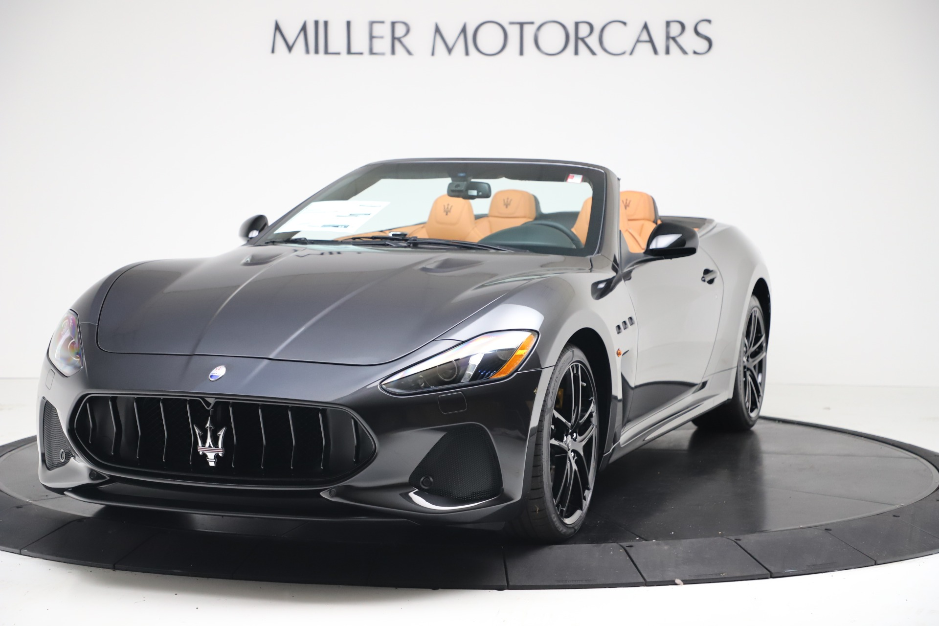 New 2019 Maserati GranTurismo MC Convertible for sale Sold at Alfa Romeo of Greenwich in Greenwich CT 06830 1