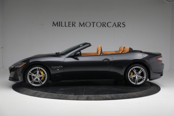New 2019 Maserati GranTurismo Sport Convertible for sale $164,075 at Alfa Romeo of Greenwich in Greenwich CT 06830 12