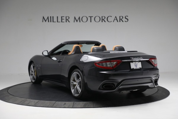 New 2019 Maserati GranTurismo Sport Convertible for sale $164,075 at Alfa Romeo of Greenwich in Greenwich CT 06830 13