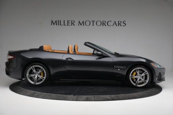 New 2019 Maserati GranTurismo Sport Convertible for sale $164,075 at Alfa Romeo of Greenwich in Greenwich CT 06830 16